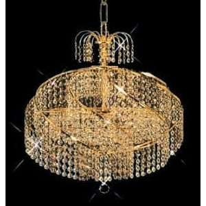 8052D18C Elegant Lighting Spiral Collection lighting