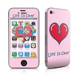 com Heart Break Design Protective Skin Decal Sticker for Apple iPhone