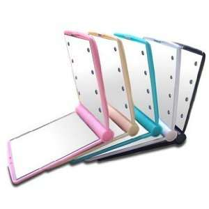 Cosmetic Make Up Compact Portable Folding Fold Mirror Colorful Beauty
