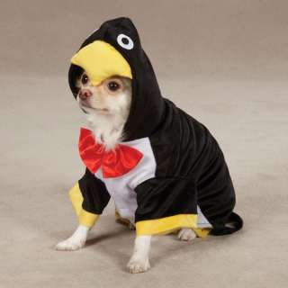 PENGUIN PUP Plush Pet Dog Puppy Halloween Costume XS XL