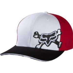 Fox Racing Covert Ops Flexfit Hat   Large/X Large/White