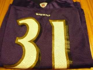 short sleeve football jersey for Jamal Lewis of the Baltimore Ravens