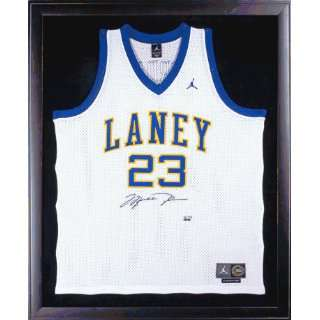 Jordan Signed Jersey   Laney High School   Framed