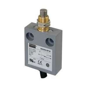 Dayton 12T946 Mini Limit Switch, SPDT, Vert, Mount Plung