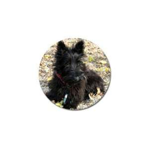 Scottish Terrier Puppy Dog 2 Golf Ball Marker (10 pk