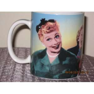 I Love Lucy California, Here We Come Coffee Cup Mug by