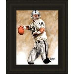 Oakland Raiders Framed Rich Gannon Oakland Raiders Large Giclee