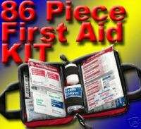 New 200 pc Emergency First Aid Kit SOFT BAG FAO 432