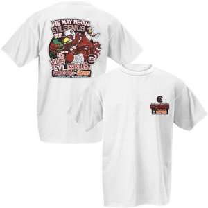 South Carolina Gamecocks Evil Genius Vs. Florida White T