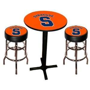 Syracuse Orange Men Pool Hall/Bar/Pub Table   Black