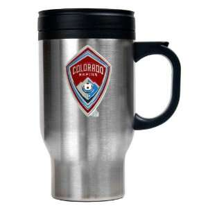 Colorado Rapids Mls 16Oz Stainless Steel Travel Mug