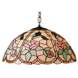 Hummingbird Tiffany Stained Glass Pendant Lighting Fixture