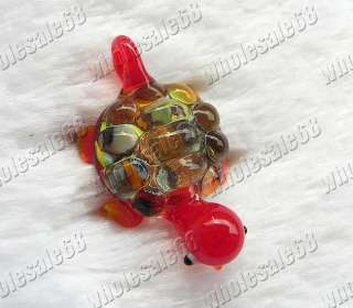 Wholesale Lots 24pcs animal murano glass pendants FREE
