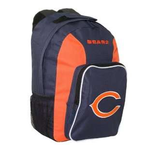 NFL Chicago Bears Southpaw Team Color Backpack Sports