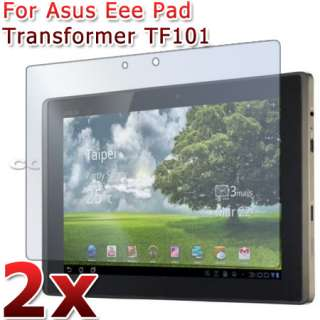 2XCLEAR LCD SCREEN PROTECTOR COVER GUARD FILM FOR ASUS EEE PAD
