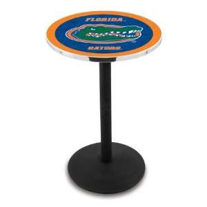 42 University of Florida Bar Height Pub Table   Round