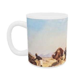 Crossing the Desert by Jean Leon Gerome   Mug   Standard