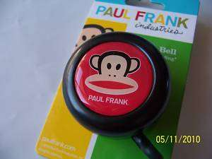 BICYCLE BELL PAUL FRANK JULIUS BLACK NIRVE NEW