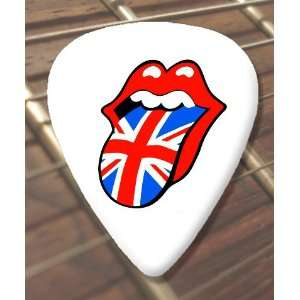 Rolling Stones UK Lips Premium Guitar Picks x 5 Medium