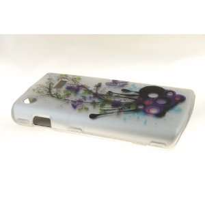 Samsung Captivate i897 Hard Case Cover for WH/PR Flower
