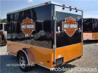 trailer harley Davidson decal 6x10 ramp door toy hauler NEW