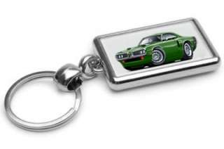 1970 Dodge Coronet RT Muscle Car Keychain NEW