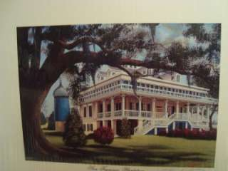 Thompson Signed/Autographed Small Print  San Francisco Plantation NIP
