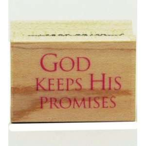 Hero Arts Rubber Stamp   God Keeps His Promises