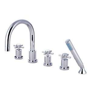 Elements of Design ES83285DX Concord Roman Tub Filler