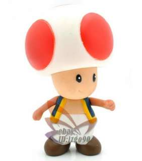 RED TOAD SUPER MARIO BROS FIGURE TOY NEW MS227