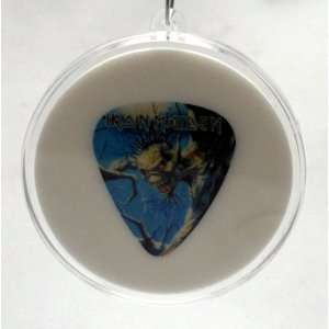 Iron Maiden Eddie Guitar Pick #2 With MADE IN USA Christmas Tree