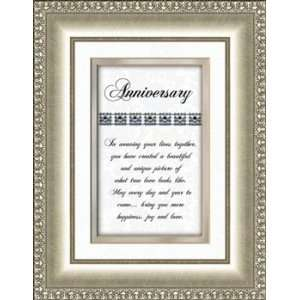 Wedding Anniversary Gift Framed Verse Picture Print