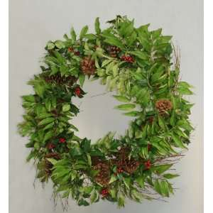 33 Holly Berry, Sorbus & Pine Cone Artificial Christmas