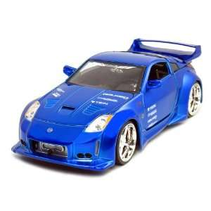 Jada 2003 Nissan Z 1/24 Scale DUB City (Candy Blue) Toys & Games