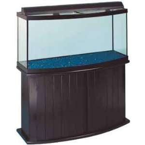 All Glass Aquarium Co. 155 Gallon Pine Bow Front Fish Tank