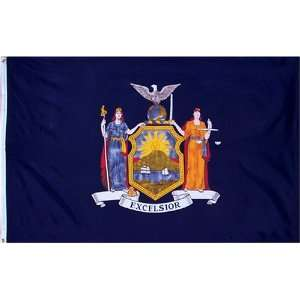 New York State Flag 3x5 3 x 5 Brand NEW LARGE US Banner