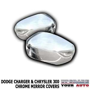 2006 2010 Dodge Charger Chrome Mirror Covers (For Painted