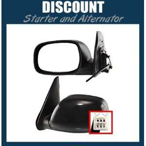 Side Mirror LH, 2001 2007 Toyota Sequoia, Toyota Tundra Crew Cab