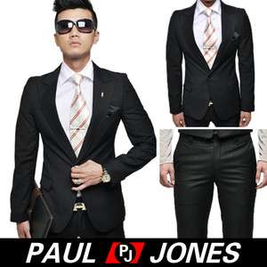 NWT Men Fashion icon Stylish Dress Classic business Suit Blazer and