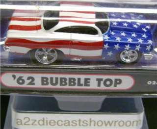 1962 CHEVY IMPALA BUBBLE TOP FUNLINE MUSCLE MACHINES DIECAST 164