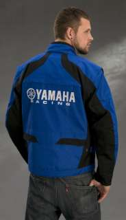 Yamaha Racing ENDURO Street Riding Bike MX Jacket Blue White Black NEW