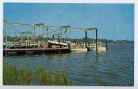 BRUNSWICK GA Yacht Club Basin Dock Lift Pleasure Boats