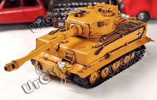 Hand Made Metal Art Bar Decor Model 136 WWII German Heavy Tiger Tank