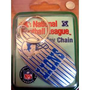 LIONS NFL National Football League Key Chain