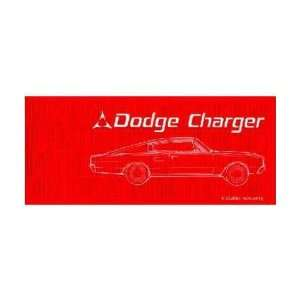 1967 DODGE CHARGER Owners Manual User Guide Automotive