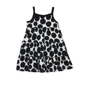 NWT Carters Toddler Girls Black Polka Dot Sundress