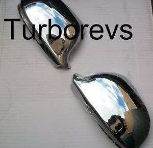 CHROME DOOR MIRROR COVERS FOR AUDI A3 S3 A4 A5 A6 A8