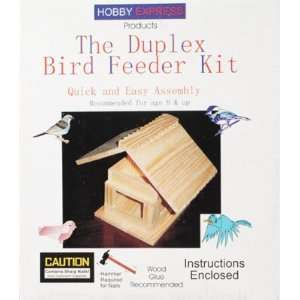 Dplx Bird Feeder Kit w/PD Holes (Bird House Kits)