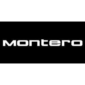 Mitsubishi Montero Windshield Vinyl Banner Decal 36 x 3