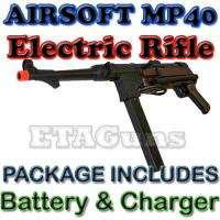 Airsoft WW2 WWII MP40 German War Metal Electric AEG Rifle Gun